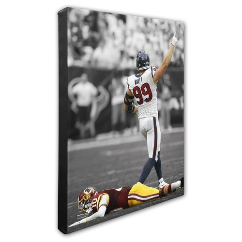 "Photo File Houston Texans J.J. Watt 8"" x 10"" Spotlight Action Photo"