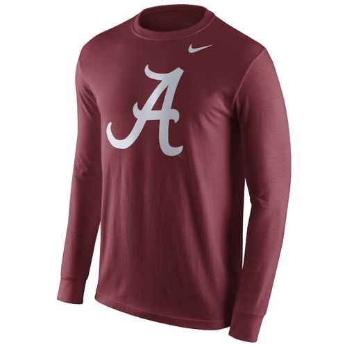 Nike™ Men's University of Alabama Long Sleeve Logo T-shirt