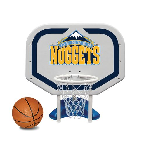 Poolmaster® Denver Nuggets Pro Rebounder Style Poolside Basketball Game