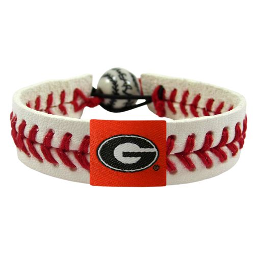 GameWear University of Georgia Power G Logo Classic Baseball Bracelet
