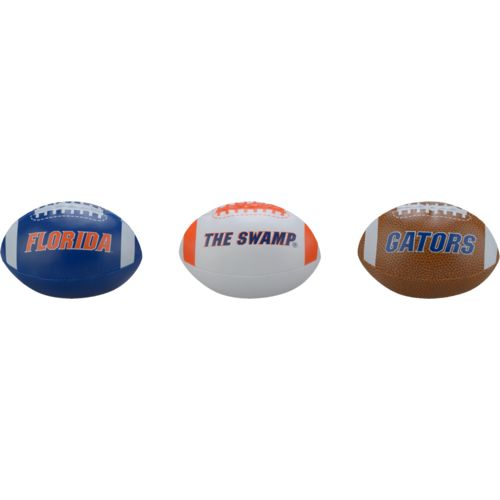 Rawlings® Boys' University of Florida 3rd Down Softee 3-Ball Football Set - view number 2