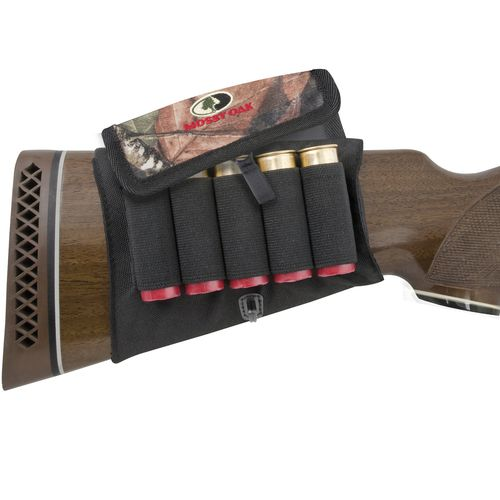 Mossy Oak Buttstock Shotshell Holder with Cover