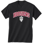 New World Graphics Men's Indiana University Arch Mascot T-shirt