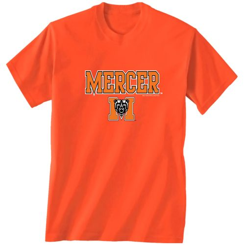New World Graphics Men's Mercer University Arch Mascot T-shirt