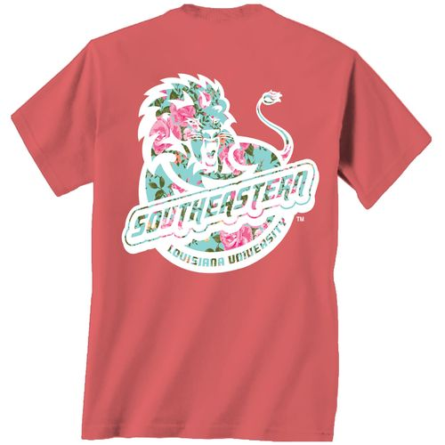New World Graphics Women's Southeastern Louisiana University Floral T-shirt - view number 1