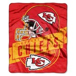 The Northwest Company Kansas City Chiefs Grandstand Raschel Throw