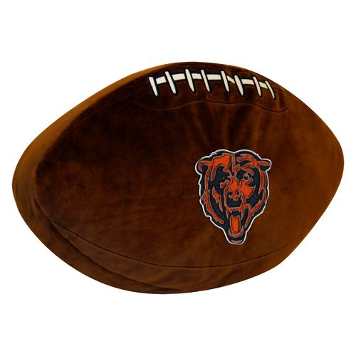 The Northwest Company Chicago Bears Football Shaped Plush Pillow