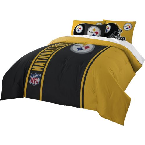 The Northwest Company Pittsburgh Steelers Full-Size Comforter and Sham Set