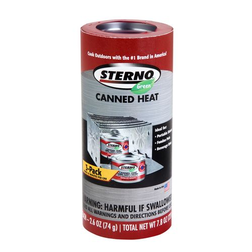 Sterno® Outdoor Essentials 2.6 oz. Canned Heat Cooking Fuel Cans 3-Pack - view number 1