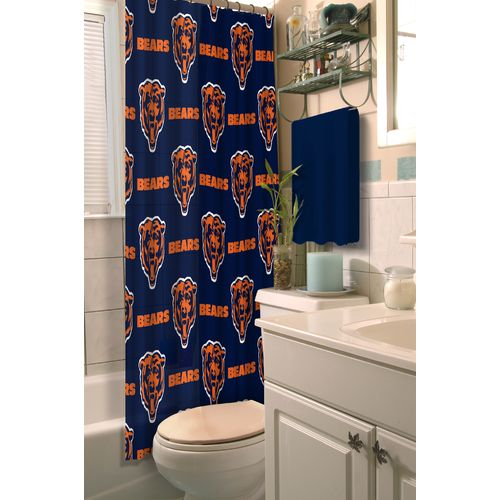 The Northwest Company Chicago Bears Shower Curtain