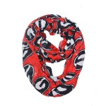 ZooZatz Women's University of Georgia Logo Infinity Scarf