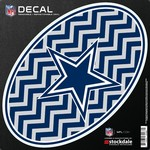 Stockdale Dallas Cowboys Chevron Oval Decal
