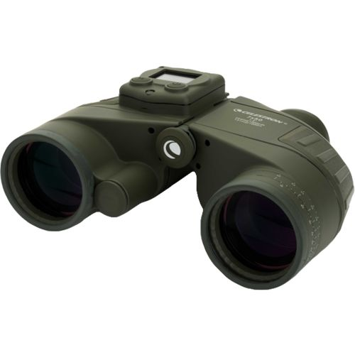 Celestron Cavalry 7 x 50 Binoculars with GPS, Digital Compass and Reticle