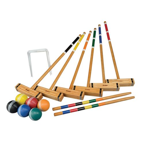 Display product reviews for Franklin Sports 6-Player Classic Croquet Set
