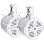 "Power Acoustik 500W Marine-Grade Wake Tower Enclosure with Two 6-1/2"" Speakers"