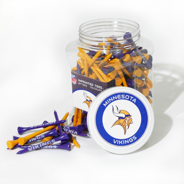 Team Golf Minnesota Vikings Tees 175-Pack