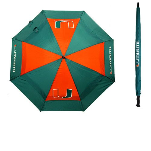 Team Golf Adults' University of Miami Umbrella