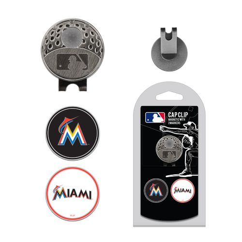 Team Golf Miami Marlins Marker Cap Clip - view number 1