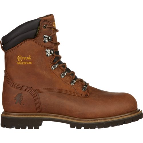 Chippewa Boots Men's Heavy Duty Tough Bark Utility Steel-Toe Rugged Outdoor Boots