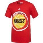 NBA Boys' Houston Rockets Primary Logo Short Sleeve T-shirt