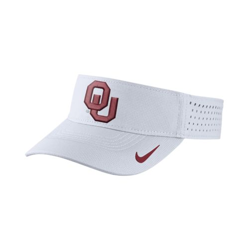 Nike™ Men's University of Oklahoma Vapor Adjustable Visor