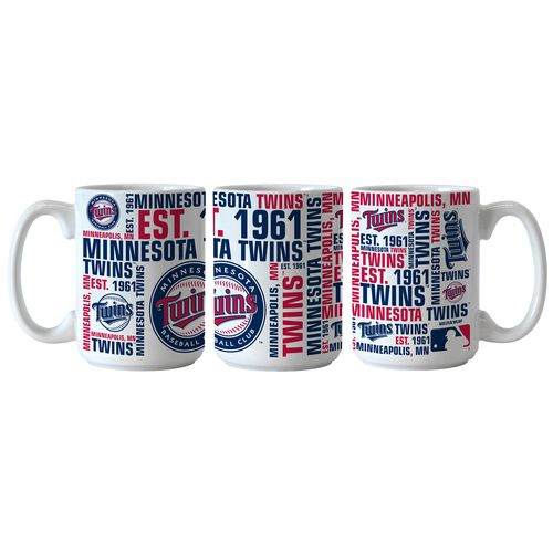 Boelter Brands Minnesota Twins Spirit 15 oz. Coffee Mugs 2-Pack