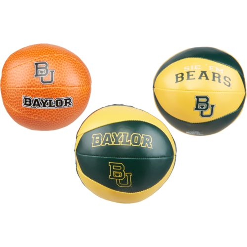 Rawlings® Baylor University 3-Point Shot Softee Basketballs
