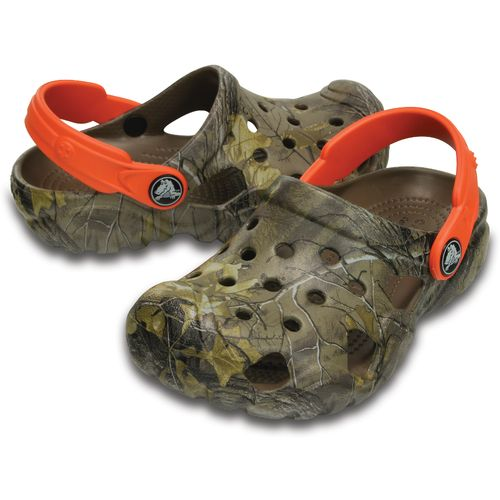 Crocs Kids' Swiftwater Realtree Xtra Clogs - view number 6