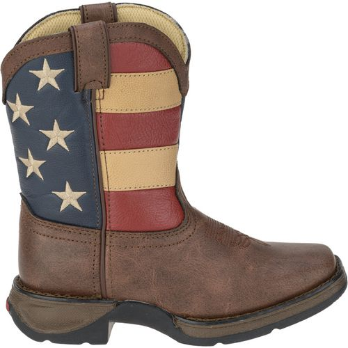 Display product reviews for Durango Kids' Lil' Durango Patriotic Western Boots