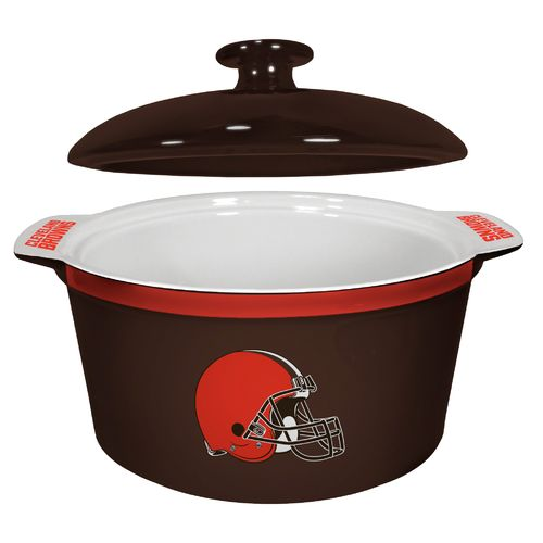 Boelter Brands Cleveland Browns Gametime 2.4 qt. Oven Bowl