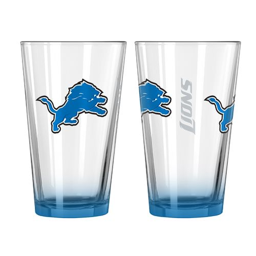 Boelter Brands Detroit Lions Elite 16 oz. Pint Glasses 2-Pack