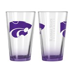 Boelter Brands Kansas State University Elite 16 oz. Pint Glasses 2-Pack - view number 1