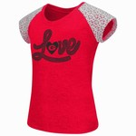 Colosseum Athletics Girls' University of Georgia All About That Lace T-shirt