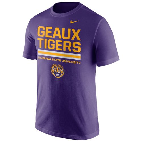 Nike™ Men's Louisiana State University Local Verbiage Short Sleeve T-shirt