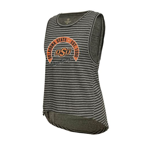 Colosseum Athletics™ Women's Oklahoma State University Stay In Your Lane Tank Top