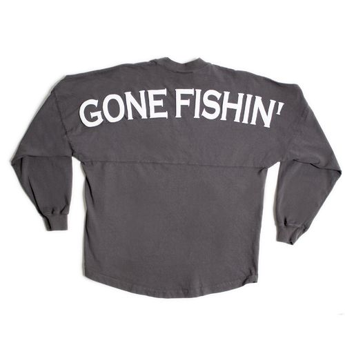 Above Wings™ Adults' Wing Back™ Gone Fishin' Long Sleeve Shirt