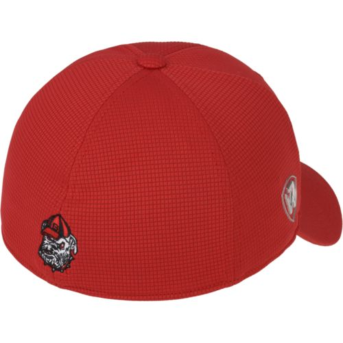 Top of the World Men's University of Georgia Booster Plus Cap - view number 2