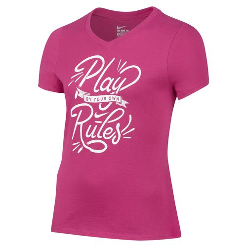 Nike Girls' Your Own Rules T-shirt