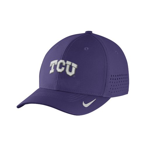 Nike™ Men's Texas Christian University Classic99 Swoosh Flex Cap