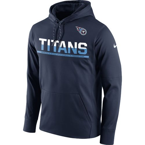 Nike Men's Tennessee Titans Circuit Pullover Hoodie