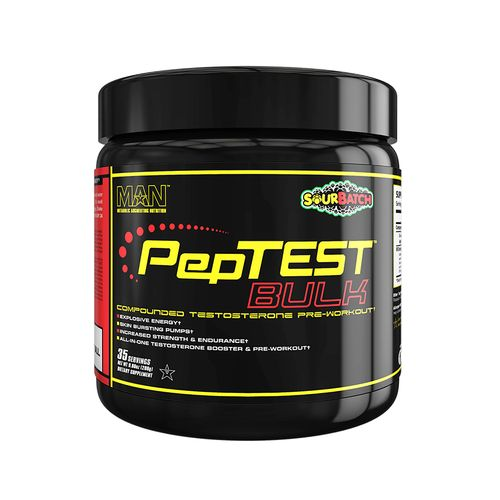 MAN Sports Peptest Bulk Pre-Workout Supplement