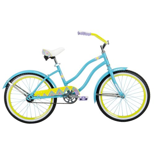 "Huffy Girls' Good Vibrations 20"" Cruiser Bicycle"