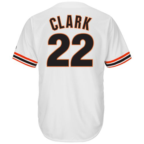 Majestic Men's San Francisco Giants Will Clark #22 Cooperstown Cool Base 1982 Replica Jersey - view number 1