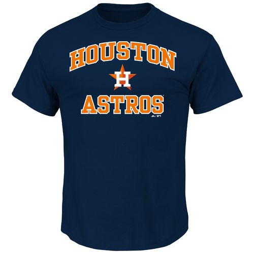 Majestic Men's Houston Astros Heart and Soul T-shirt