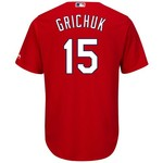 Majestic Men's St. Louis Cardinals Randal Grichuk #15 Cool Base Replica Jersey - view number 1