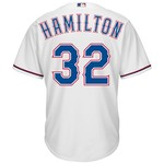 Majestic Men's Texas Rangers Josh Hamilton #32 Cool Base Replica Jersey