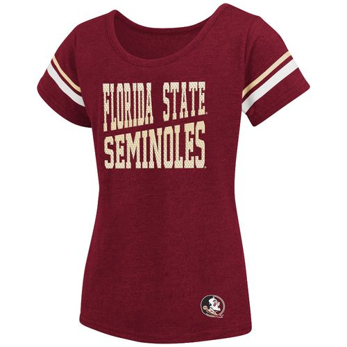Colosseum Athletics™ Girls' Florida State University Fading Dot T-shirt
