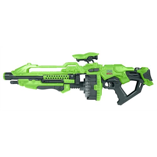 World Tech Toys Warrior Glow-in-the-Dark Prime Motorized Rapid-Fire Dart Blaster