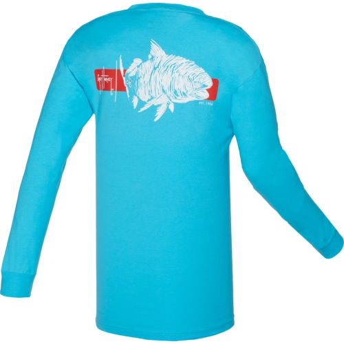 Guy Harvey Men's Ginger Long Sleeve T-shirt