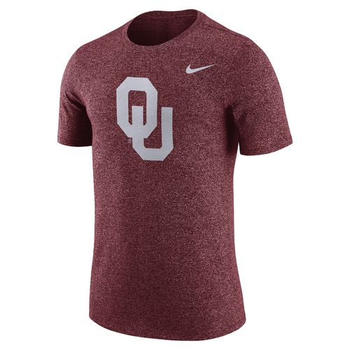 Nike Men's University of Oklahoma Marled Logo T-shirt
